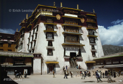 "The ""White Palace"", the administrative building of     