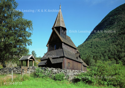 Urnes stave church, Sogn, Norway.
