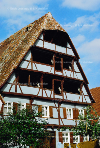 Dyer's House at Noerdlingen, Bavaria,                  