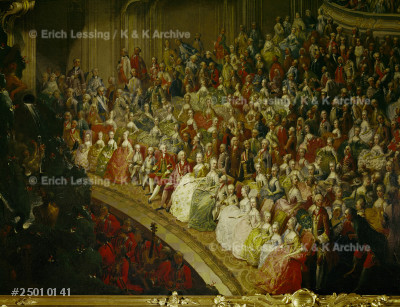 Wedding concert in 1760 for Joseph II and Isabella