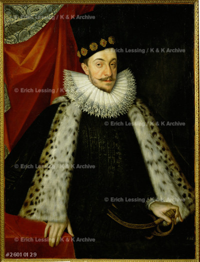 King Sigismund III of Poland (1566-1632), son of