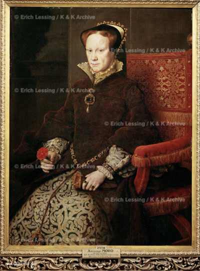 Queen Mary of England (Mary Tudor,1516-1558), second   