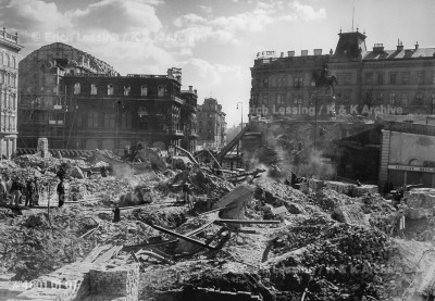 Post-war Vienna.