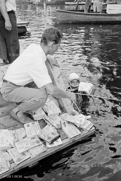 The case of the counterfeit Pounds: towards the end of World War II, the Nazi regime decided to produce counterfeit Pounds in order to destabilize the British currenccy. At the time of the German defeat, boxes of fake money were sunk in an Austrian lake and retrieved by divers in 1959.