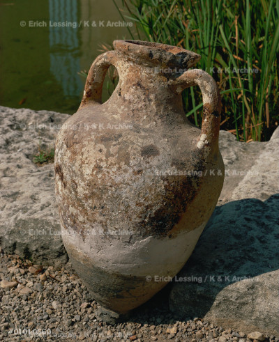 Amphora (around 4th BCE) - imported from Greece.