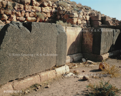 Southwest gate of Ebla.                                