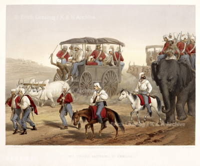 Troops hastening to Umballa
