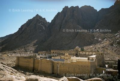 Mount Sinai and the Monastery of Santa Katarina.