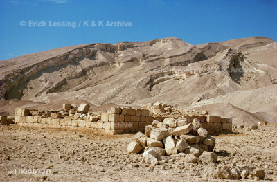 "Roman fort at the foot of the ""scorpion path"",         