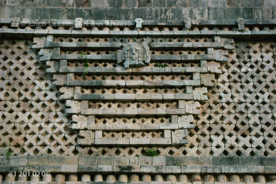 Detail from the facade of the East Building,           