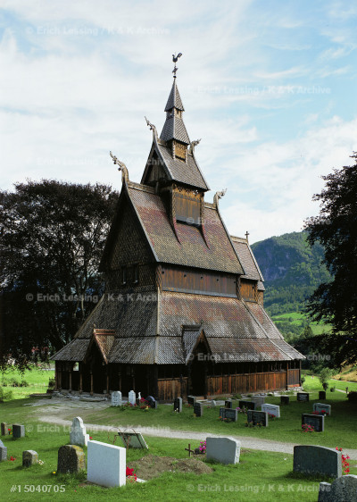 Hopperstad stave church, Sogn, Norway, 1150.