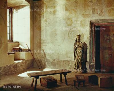 Geometry room of Collegium Maius (old university).     Nicolas Copernicus studied at this university in 1502.