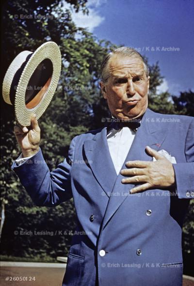 Maurice Chevalier, chansonnier (1888-1972)