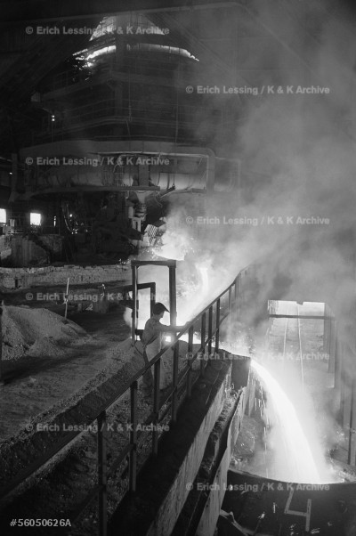 The Sztalinvaros(now Dunapentele)steelplant was        the flagship and pride of Hungarian industry under     Communism. Yet labour unrest began among the steel-    workers months before the outbreak of the Hungarian    Revolution.Dunapentele,1956