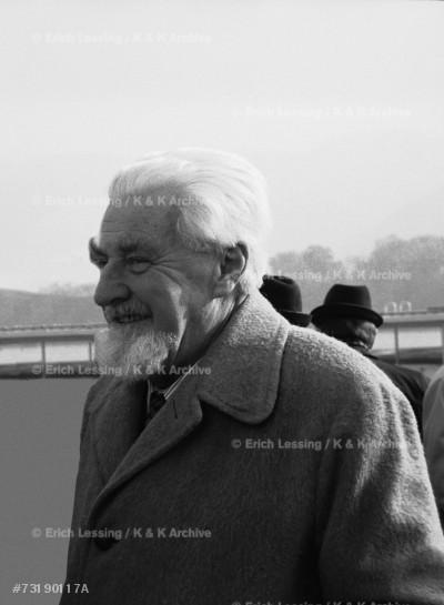 Konrad Lorenz, Austrian zoologist and behaviourist, received the Nobel-Prize in 1973.