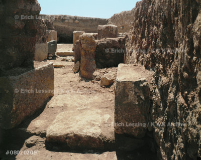 Corridor of administrative buildings                   