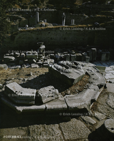 The Octagon, tomb of a young girl,                     