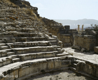 Bouleuterium on Eleuthera Agora (government area).     