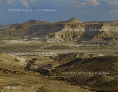 The Negev Desert.                                      View from Sde Boker.