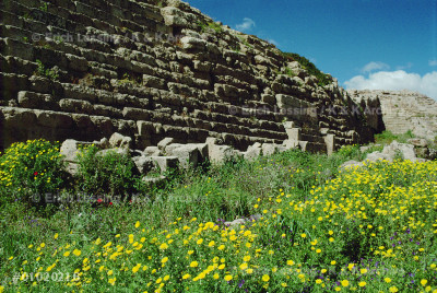 Citywall of Selinunte;the city was totally destroyed,  