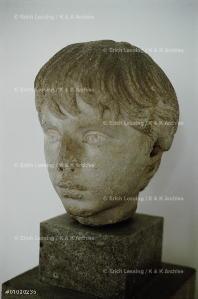 Portrait bust of Poyneikes,mid 2nd CE                  Inv.N.I.1520