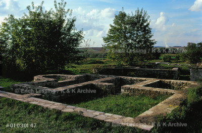 The Roman fort Abusina on the Limes. The Limes         