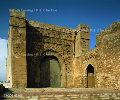 Ouadaia gate, Rabat. Part of the Ouadaia-Kasbah        