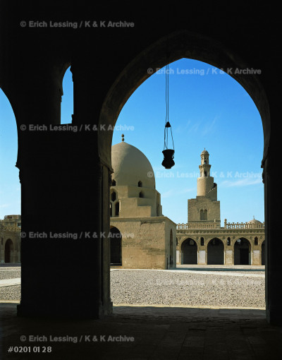 Mosque of Ahmad Ibn Tulun, built 876-879, the oldest   