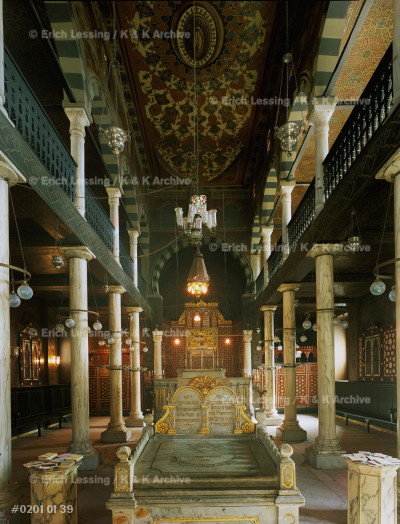 Ben Ezra-synagogue,Cairo.A prior synagogue was         